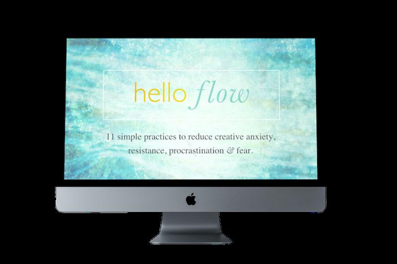hello flow online course imac copy